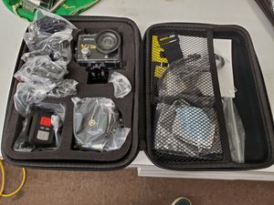 Jeemak Vision 4K Wifi sport camera gopro for Sale in Quakertown, PA