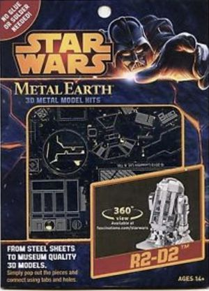 New Disney store Starwars Metal Earth 3D Metal Model kit, R2D2 for ages 14+ for Sale in Kenneth City, FL