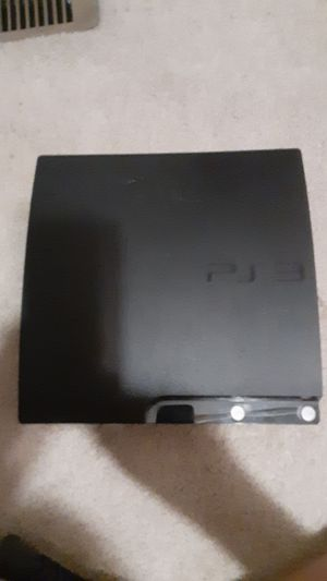 Sony Playstation 3 Slim Charcoal Black Console 120Gb | 2 Controllers| 50 Games| All Cords| 1 Charger| 1 Mic| Bag holder for PS3| for Sale in Freedom, PA