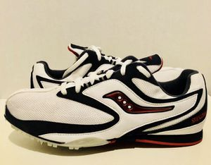 Men's SAUCONY Velocity Spikes Track Shoes Size 10.5 for Sale in Chillum, MD