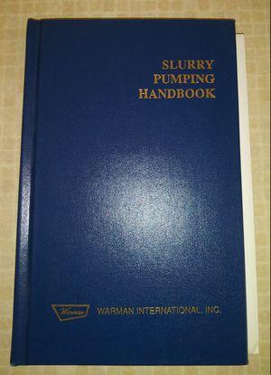 Warman Slurry Pump Handbook for Sale in San Antonio, TX