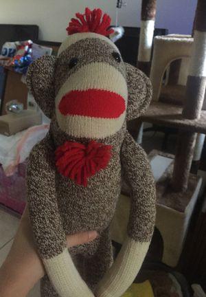 Hand made stuffed monkey for Sale in Delray Beach, FL