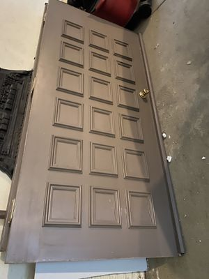 """2 36""""x80 doors brown no frame for Sale in Medina, OH"""