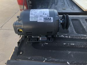 NEMA EXHAUST FAN MOTOR, with pulleys for Sale in Maricopa, AZ