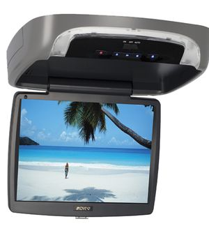 """10.1"""" Flip down TV/DVD Player with 2 sets of headphones for Sale in Lisbon, CT"""
