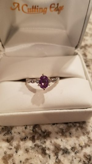 Alexandrite and diamond ring for Sale in Fargo, ND