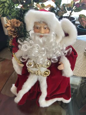 13 Inch Christmas Santa Decoration. for Sale in NO POTOMAC, MD