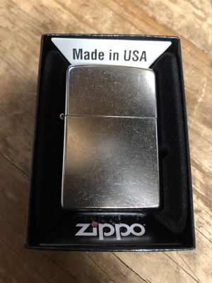 Marlboro Mail In Brushed Nickel Zippo Lighter , 7 Available sold separately for Sale in Grand Prairie, TX