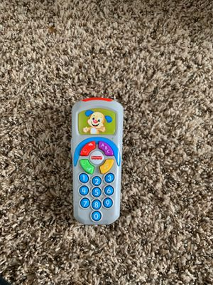 Fisher price tv remote for Sale in Dickinson, ND
