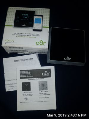 Cor wifi thermostat for Sale in Auburndale, FL