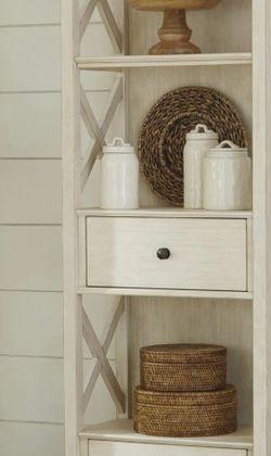 Bolanburg Antique White Display Cabinet | D647 byAshley for Sale in Arlington,  VA
