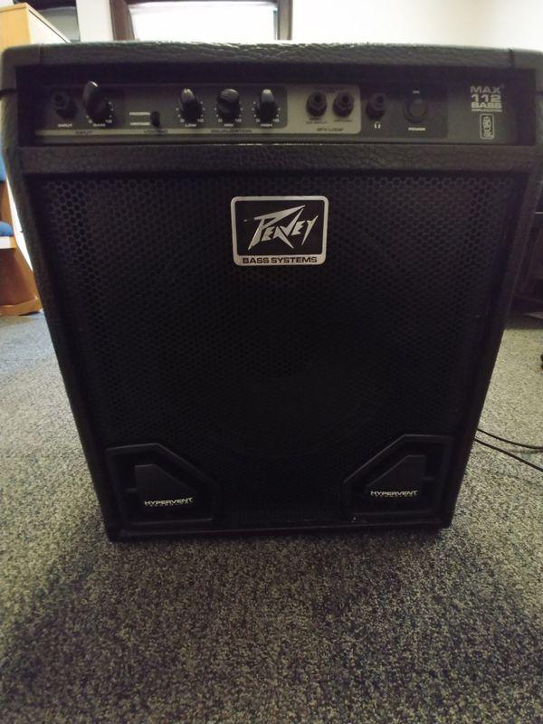 Peavey 112 max bass amp