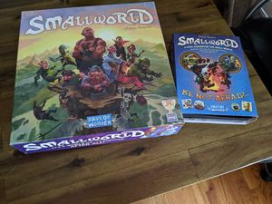 Small world board game plus expansion for Sale in Annandale, VA