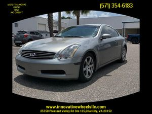 2004 INFINITI G for Sale in Chantilly, VA