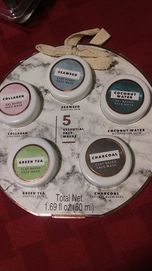 5 essential face masks new for Sale in Anchorage, AK