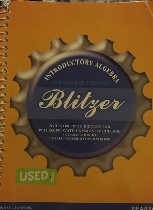 Introductory to Algebra for college students. for Sale in Knoxville, TN