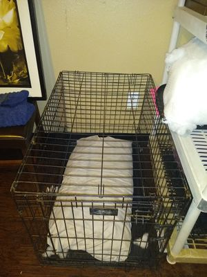 XL dog kennel crate etc for Sale in Houston, TX