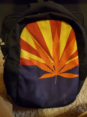 Arizona Flag/Marijuana leaf backpack for Sale in Phoenix, AZ