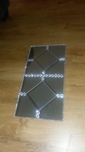 Mirror bling tray for Sale in Peoria, IL