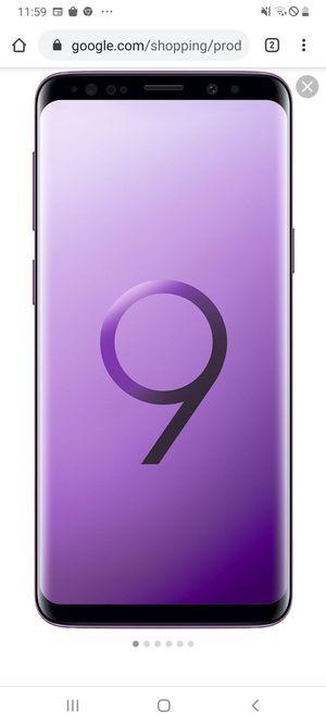 Samsung galaxy s9 for Sale in SACRAMENTO, CA