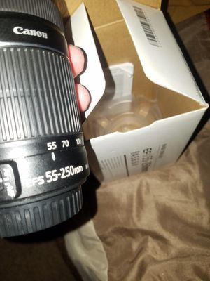 Canon Efs 55-250mm lense for Sale in ELEVEN MILE, AZ