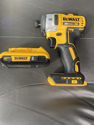 New Dewalt XR Brushless Impact 3 Speed With Battery $100 Firm for Sale in Palm Beach Gardens, FL