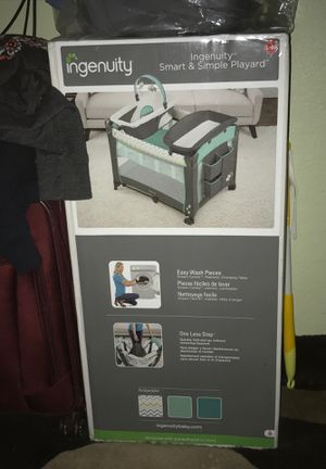 Ingenuity smart & simple playard for Sale in Oceanside, CA