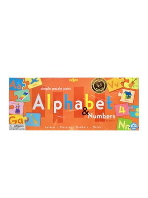 Simple Puzzle Pairs Alphabet and Numbers Game for Sale in Lewisville, TX