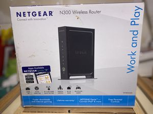 Netgear N300 Wireless Router for Sale in Walled Lake, MI