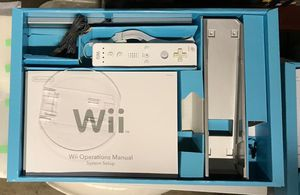 Wii CONSOLE PLUS ACCESSORIES ALL WORK PERFECTLY for Sale in Concord, CA