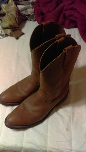 Justin Cowboy Boots Size 13D for Sale in Plant City, FL