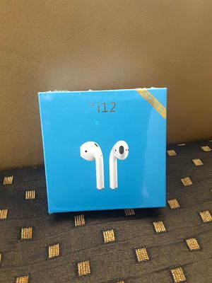i 12 TWS EarBuds Wireless ( Bluetooth 5.0 ) Touch Control. Last Model. -Brand New, Sealed Box. for Sale in Davie, FL