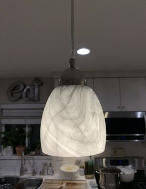 Kitchen island hanging pendant lights with sconces quantity of 3 for Sale in Westminster, CA
