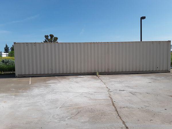 36x10 white metal shed