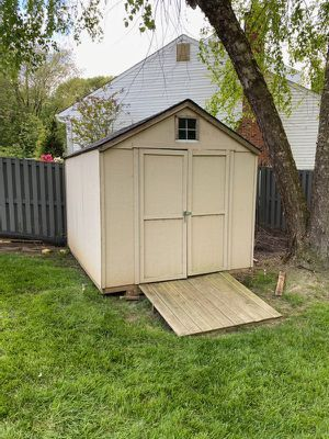 10x8 Pretreated Plywood Shed -YOU HAUL for Sale in Glenn Dale, MD