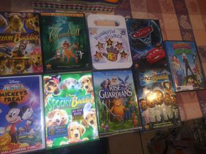 9 Disney Movies Lot. Condition is Like New. for Sale in Lakeside, CA