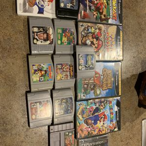 N64 GameCube Wii Ps1 Games for Sale in Phoenix, AZ