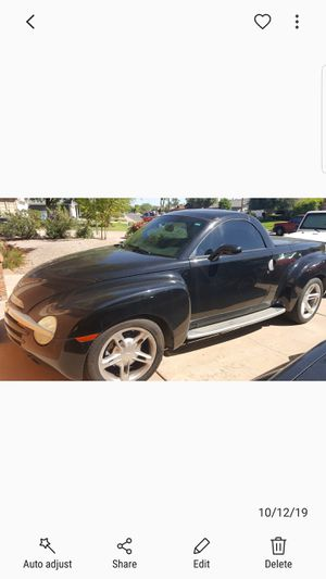 2003 Chevy SSR Convertible Pickup for Sale in Scottsdale, AZ
