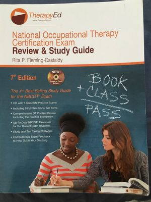 TherapyEd NBCOT Review and Study Guide 7th Ed for Sale in Cleveland, OH