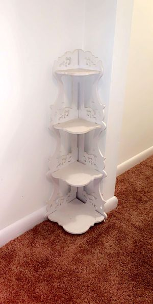 White corner shelf for Sale in Manassas, VA