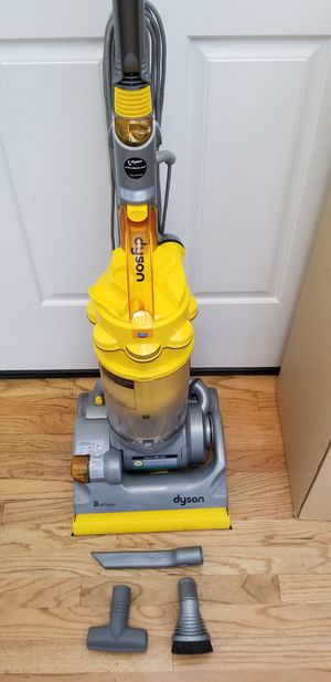 NEW cond DYSON DC14 ALL FLOOR VACUUM WITH COMPLETE ATTACHMENTS, AMAZING POWER SUCTION, IN THE BOX, WORKS EXCELLENT, BEST OFFER ACCEPTED for Sale in Auburn, WA