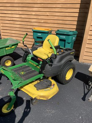 """John Deere Z445 lawn mower/ tractor 48"""" deck and accessories for Sale in Plainfield, IL"""