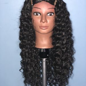 22 inch deep wave synthetic wig for Sale in Columbus, OH