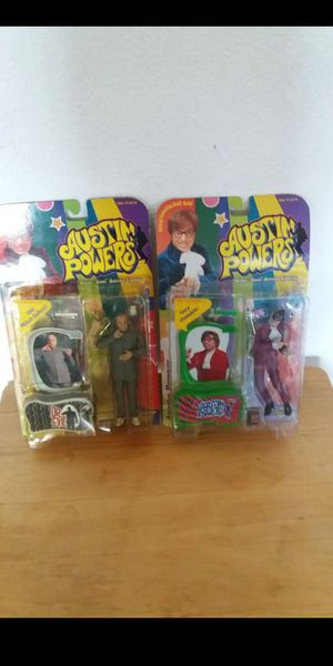 Austin Powers and Dr. Evil Action Figures for Sale in Gardena, CA