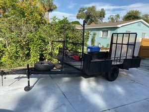 18x7ft Landscape/Utility Trailer for Sale in St. Petersburg, FL
