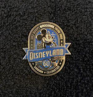 Disney Pin #206, Disneyland Resort, 60th Anniversary, Diamond Celebration Mickey Mouse for Sale in San Diego, CA