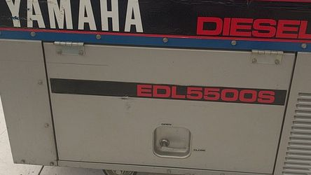 Yamaha Diesel Generator EDL5500S for Sale in Payson,  AZ
