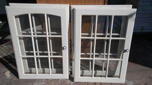 Cabinet doors with windows for Sale in La Mesa, CA