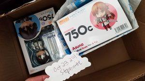 Nendoroid Ordinal Scale Kirito and Asuna w Box for Sale in Torrance, CA