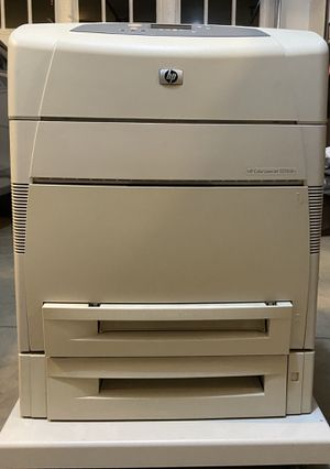 HP Color Laser Jet 5550dtn Printer for Sale in Bend, OR